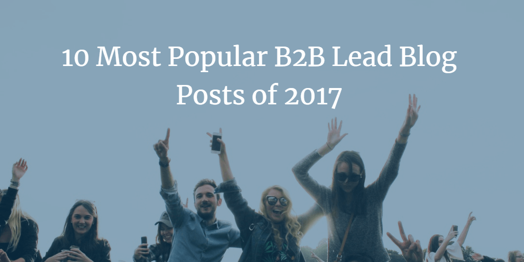 10 most popular B2B Lead Generation Posts